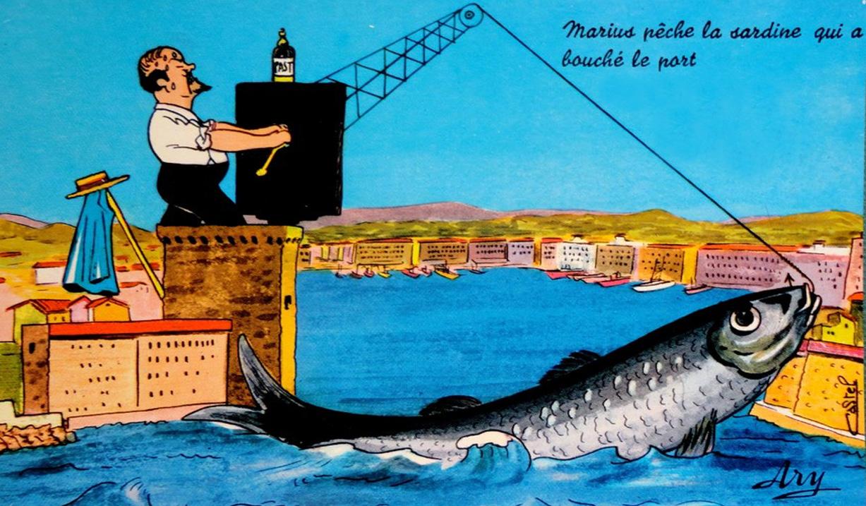 La légende de la sardine qui boucha le port de Marseille